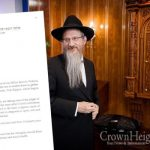 Chief Rabbi of Russia Writes Letter In Support of Melbourne's Jewish Community