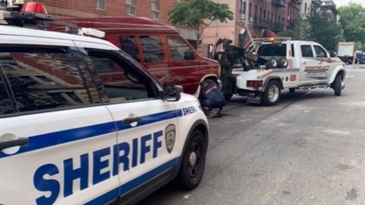 Vans Operating as Illegal Airbnbs in NYC Impounded by NYC Sheriff's Office