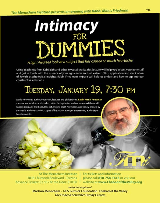 Rabbi Friedman In Kew Gardens Hills: Rabbi Manis Friedman Lectures